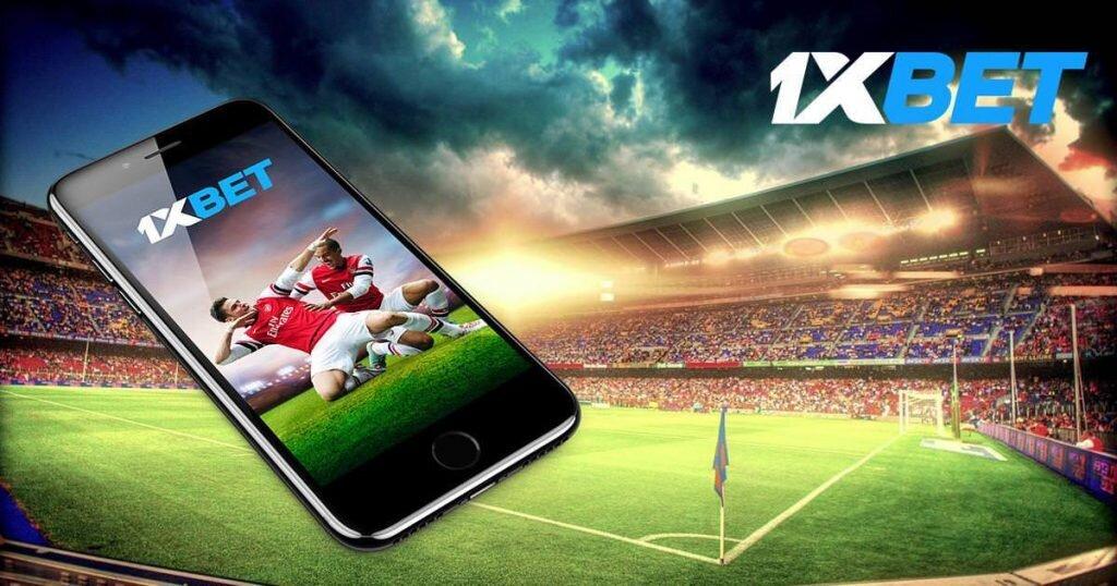 1xBet TZ app on iOS