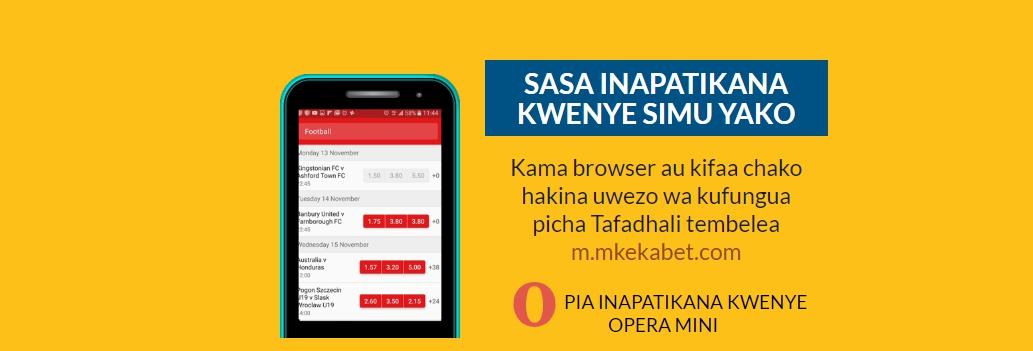 Mkekabet app