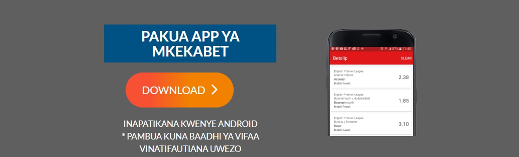 download Mkekabet app